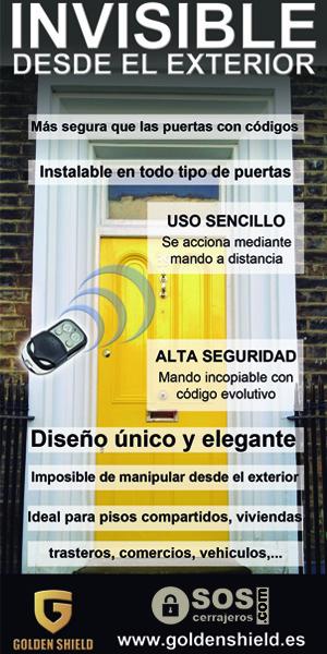 cerradura invisible electronica