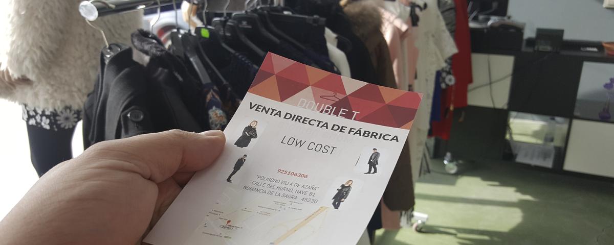 """DOUBLE """"T"""" – Moda Hombre y Mujer – Tienda LOW COST – Directa de fabrica"""