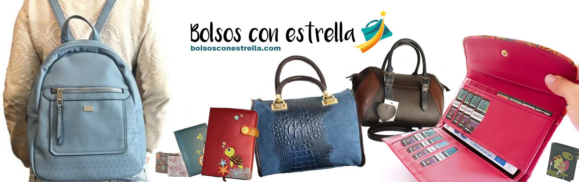 Tienda online especialista en Bolsos, Carteras y Billeteras para Mujer en piel o eco piel – bolsosconestrella.com
