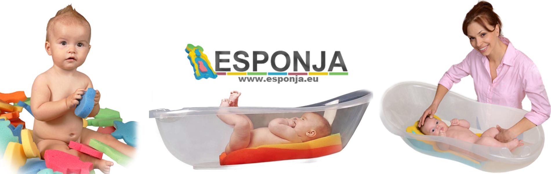 Esponjas con mas seguridad, calidad y confort para bañar a su bebe